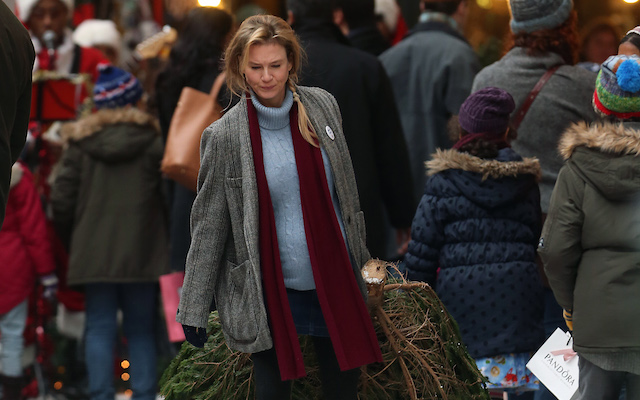 "Renee Zellweger sul set di ""Bridget Jones' Baby"", foto di Neil Mockford/GC Images"