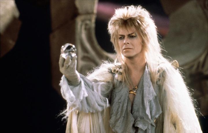 """Una scena di """"Labyrinth"""" con David Bowie"""