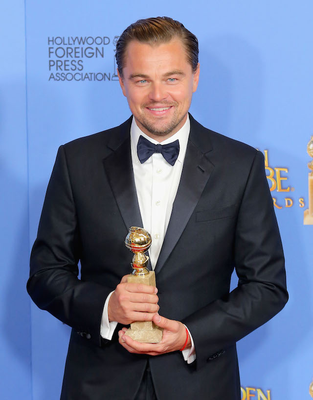 Leonardo DiCaprio in Giorgio Armani. Foto: Mark Davis/Getty Images