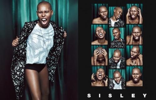 Un'immagine della campagna Sisley con Skin