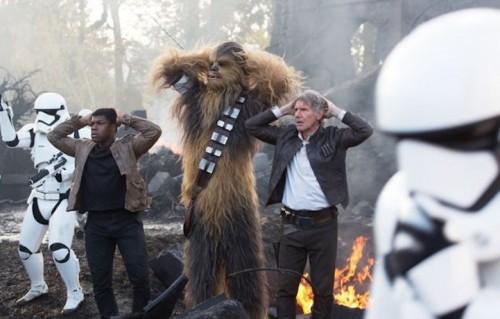 """Una scena di """"Star Wars - Il risveglio della forza"""""""