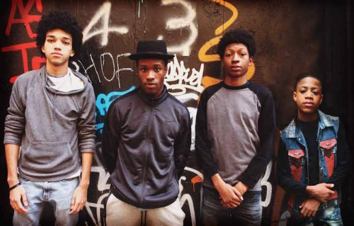 "Il cast di ""The Get Down"". Foto: Baz Luhrmann"