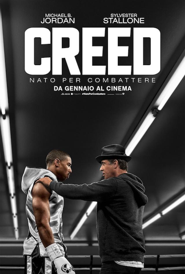 """La locandina di """"Creed"""" al cinema dal 14 gennaio 2016"""