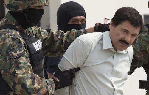 El Chapo arrestato dai navy seals messicani. Foto di Susana Gonzalez/Bloomberg