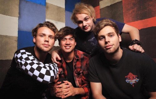 I Five Seconds of Summer, fonte Facebook