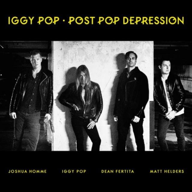 "La cover di ""Post Pop Depression"" di Iggy Pop"