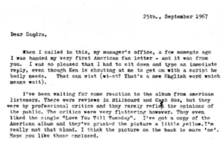 Un estratto della lettera a Sandra Dodd