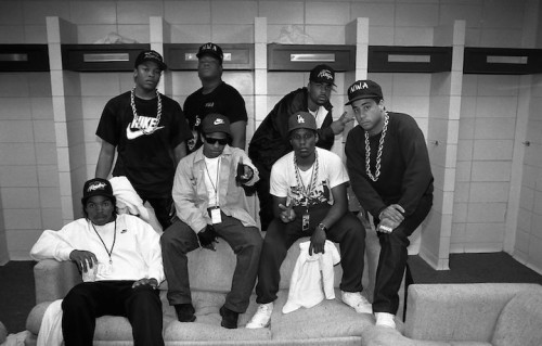N.W.A. nel 1989, foto di Raymond Boyd/Michael Ochs Archives/Getty Images