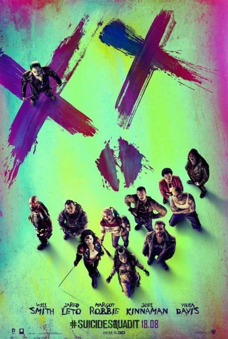 """Il poster ufficiale di """"Suicide Squad"""""""
