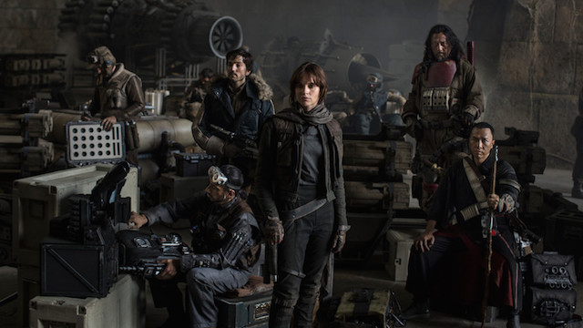 Il cast di Rogue One: A Star Wars Story