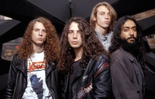 I Soundgarden nel 1989. A sinistra, Jason Everman. Foto Ebet Roberts/Redferns