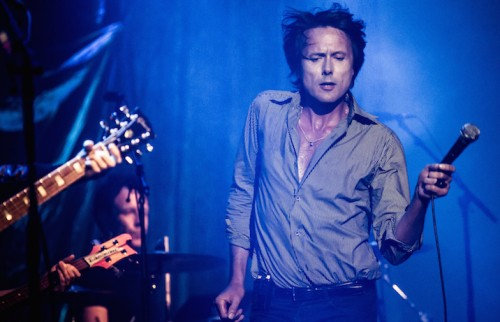 Brett Anderson degli Suede a Tel Aviv, foto Guy Prives/Redferns