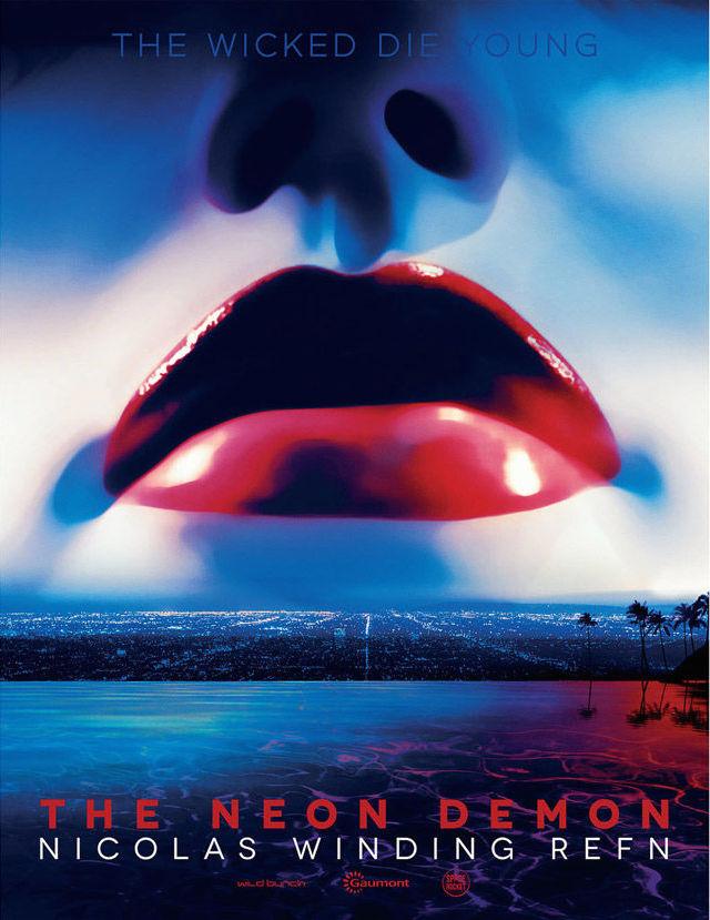 """La locandina di """"The Neon Demon"""", il nuovo film di Refn con Keanu Reeves"""