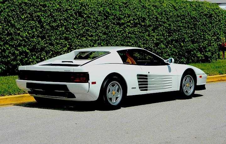 La Ferrari Testarossa ha avuto finora due proprietari, il primo era Jordan Belfont
