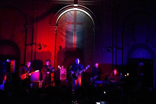 Greg Dulli, Manuel Agnelli, Rodrigo D'Erasmo, Afterhours, Afghan Whigs, live, concerto, Roma, Chiesa Evangelica Metodista, foto, gallery, Roma, 22 febbraio 2016,