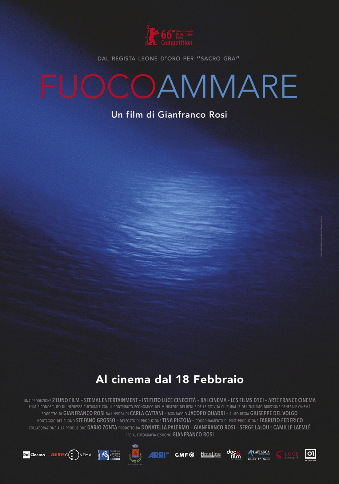 Fuocoammare - Gianfranco Rosi
