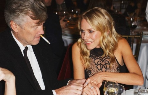Naomi Watts e David Lynch , 2001. (Photo by M. Caulfield/WireImage)