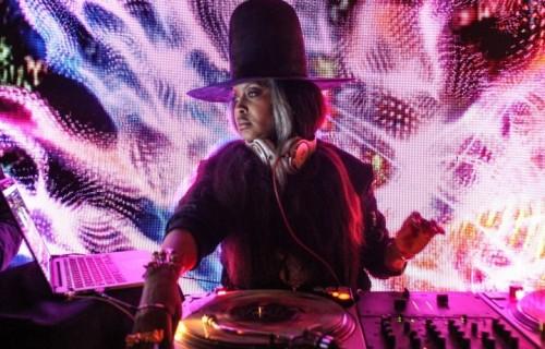 "Erykah Badu il 25 gennaio scorso al ""BlackHouse"" per l'after party del Sundance Film Festival, Park City, Utah - Foto di Thaddaeus McAdams/FilmMagic"