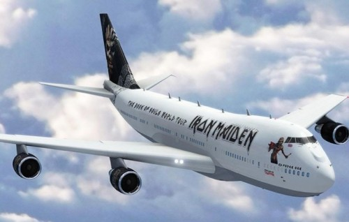 Iron-Maiden Ed Force One (Boeing 747