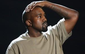 Kanye West agli Mtv VMAS 2015