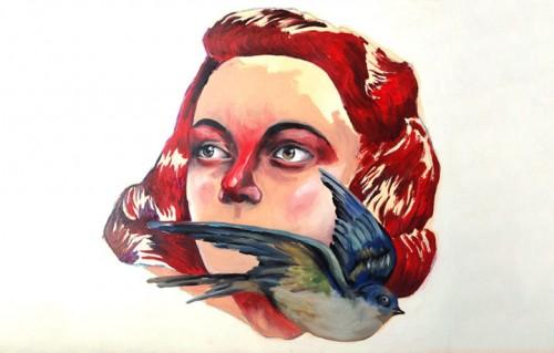 """""""Amore"""", una delle opere di Massimo Gurnari in mostra dall'11 febbraio al 9 aprile alla galleria AREA B di Milano"""