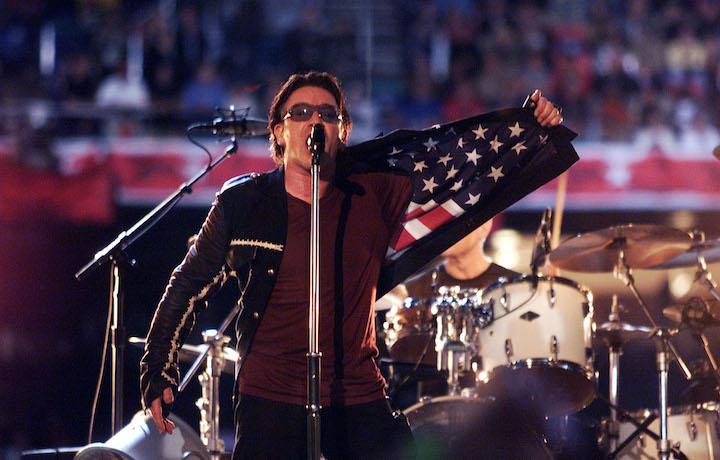 Da Madonna agli Aerosmith, fino a Katy Perry e Bono. Foto: Frank Micelotta/Getty Images
