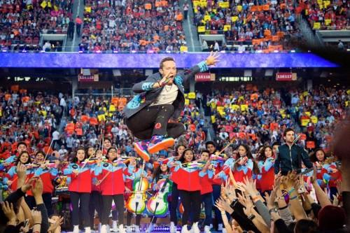 Foto via Facebook - Coldplay