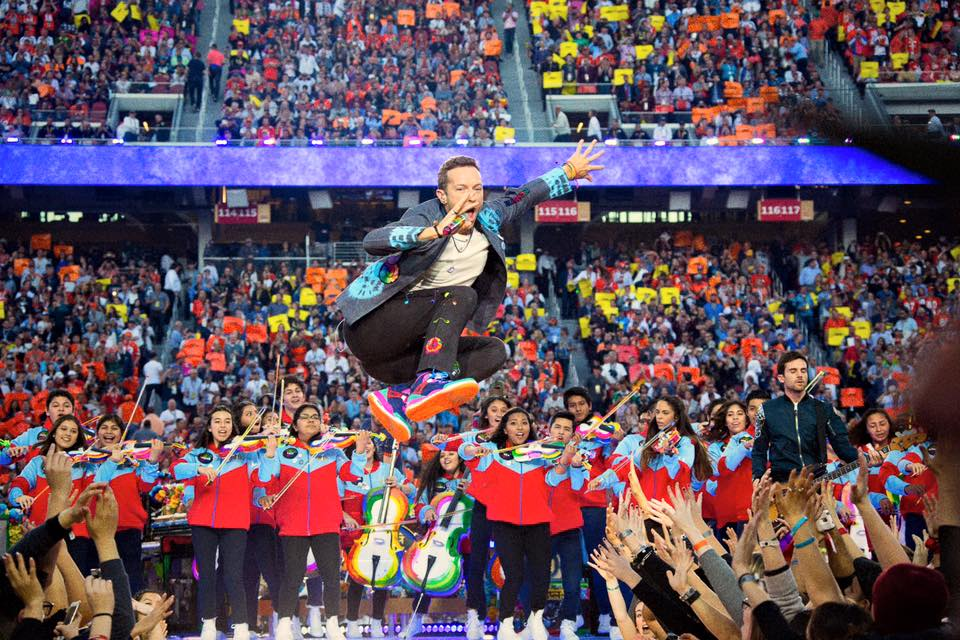 Foto via Facebook - Coldplay