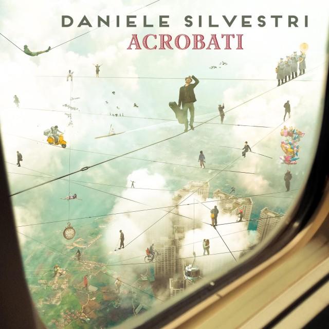 """La copertina di """"Acrobati"""", il nuovo album di Daniele Silvestri in uscita il 26 febbraio"""
