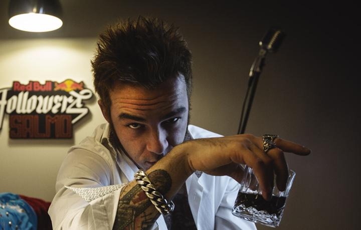 Salmo, Hellvisback, Red Bull, album, presentazione Milano, Nhow Hotel