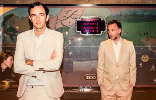 David e Stephen Dewaele, meglio noti come Soulwax e 2many djs. Foto: Stampa