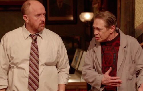 "Louis CK e Steve Buscemi in ""Horace and Pete"""