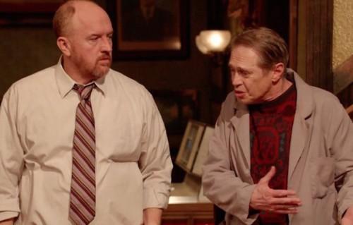 "Louis CK e Steve Buscemi in ""Horace and Pete"""