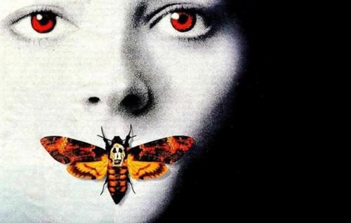 """La locandina de """"Il Silenzio degli Innocenti"""", il film del 1991 con Jodie Foster e Anthony Hopkins"""