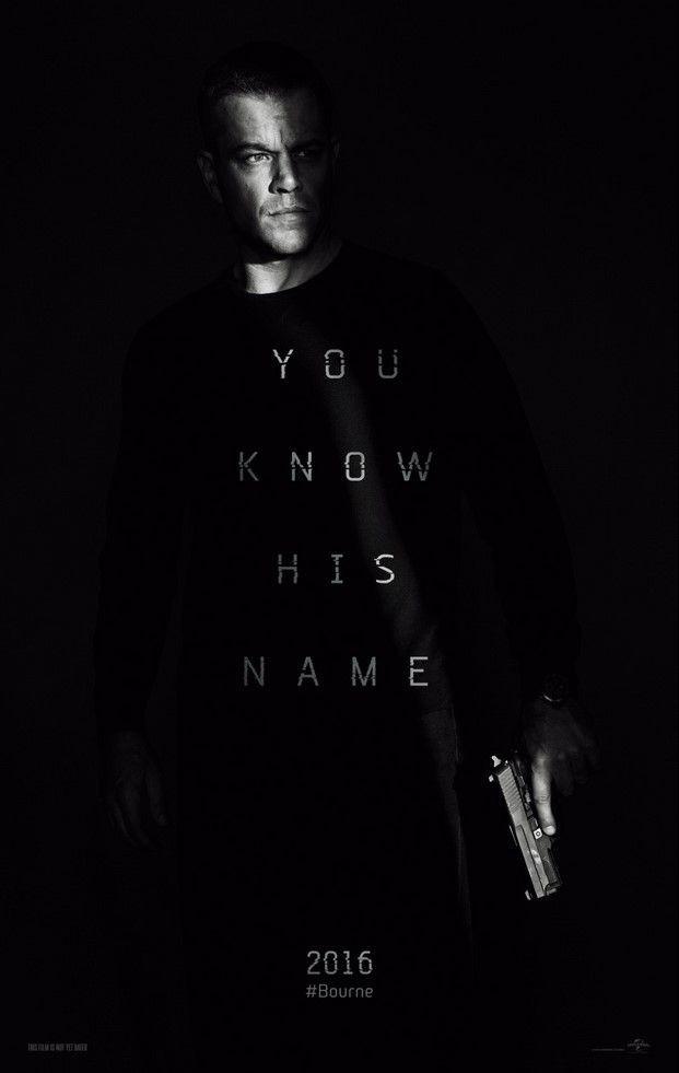 """""""Jason Bourne"""" uscirà negli USA il 29 luglio"""