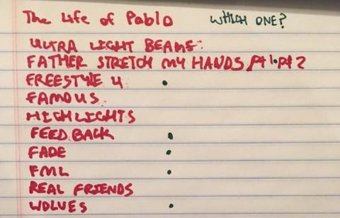 """""""The Life of Pablo"""" verrà presentato questa sera"""