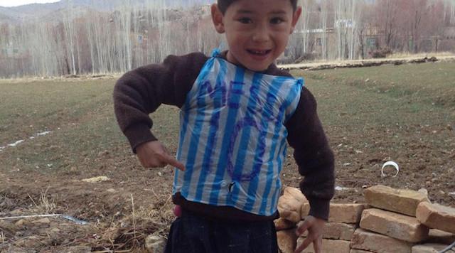 Una delle prime foto apparse on-line di Murtaza Ahmadi