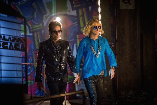 Ben Stille e Owen Wilson (nel ruolo di Hansel) in Zoolander 2