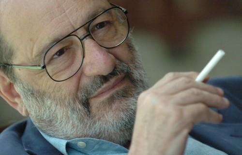 Umberto Eco, foto Vince Talotta/Toronto Star