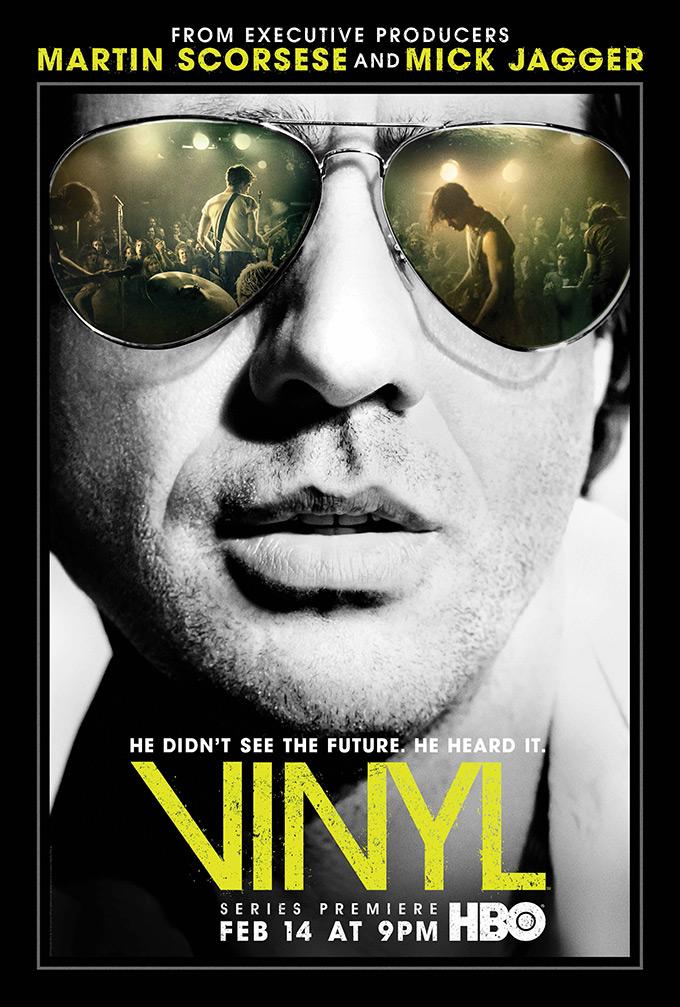 VINYL - Terence Winter, Martin Scorsese, Mick Jagger