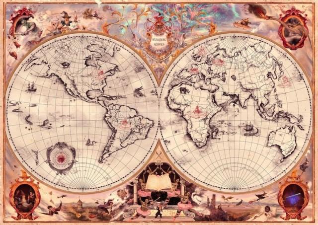 La mappa delle scuole di magia mostra però ben undici scuole nuove, che probabilmente conosceremo in futuro