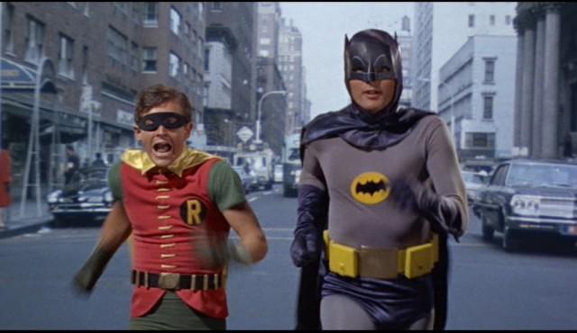 Batman e Robin nel film del 1966