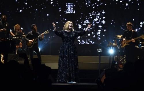 Adele live, foto Facebook