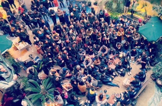 """Una foto del party di lancio di """"Loreto Paradiso"""". Foto: Facebook"""