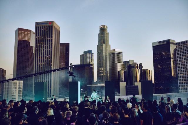 The 1975, il concerto segreto a Downtown, Los Angeles, il 25 febbraio scorso