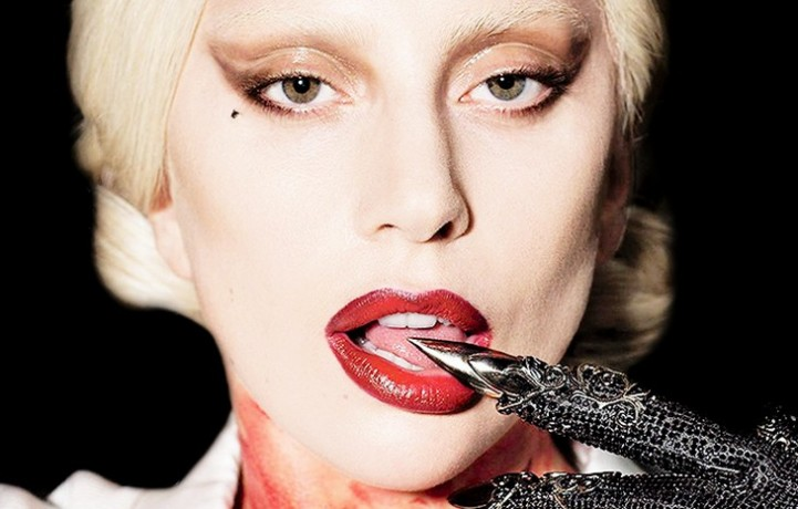 "Lady Gaga in ""American Horror Story: Hotel"""