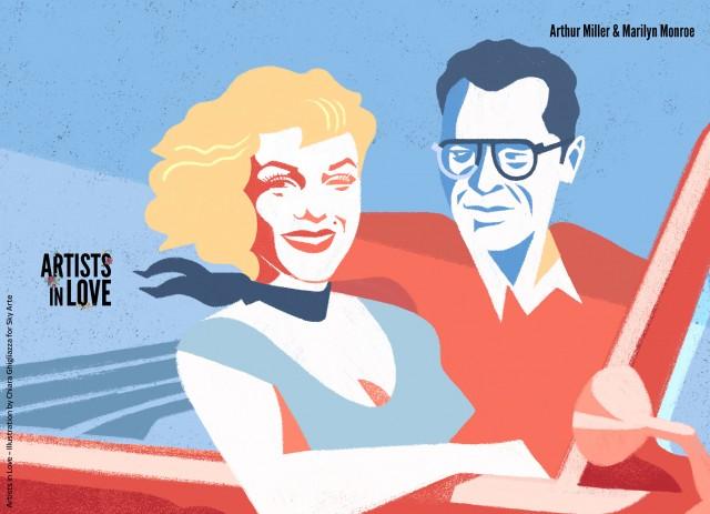 Monroe/Miller - Chiara Ghigliazza for Sky Arte