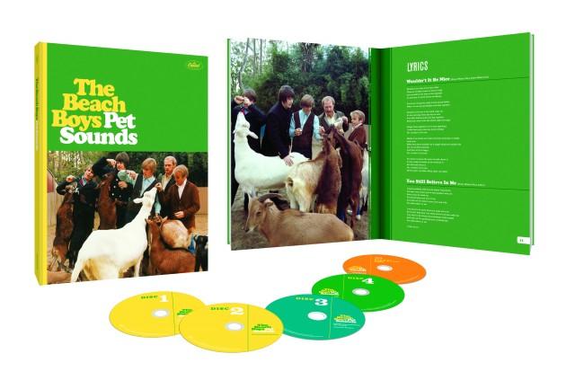 """I Beach Boys e la Capitol Records festeggiano il cinquantennale di """"Pet Sounds"""" con una speciale edizione celebrativa"""