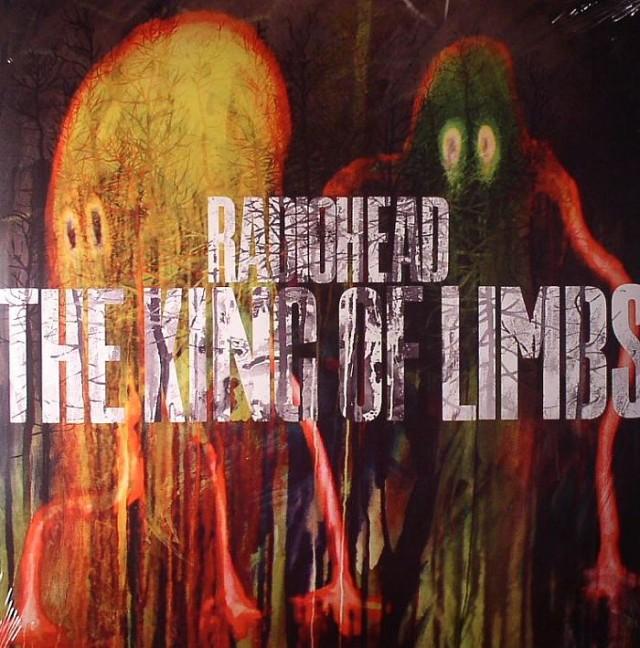 """La copertina realizzata da Donwood per l'ultimo album dei Radiohead, """"The King Of Limbs"""" del 2011"""