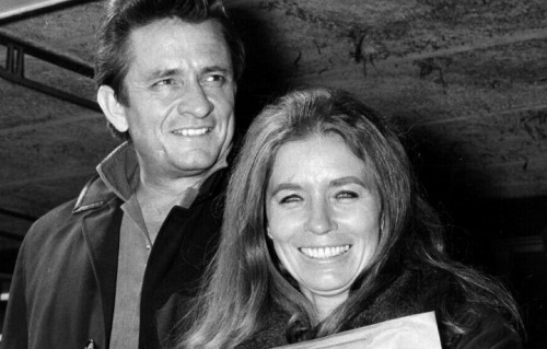 "Johnny Cash e June Carter sono i protagonisti della prima puntata di ""Artists in Love"" in onda l'8 marzo su Sky Arte - Foto di Getty Images"